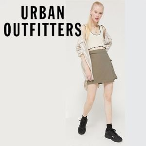 Urban Outfitters Parkwood Utility Wrap Skirt